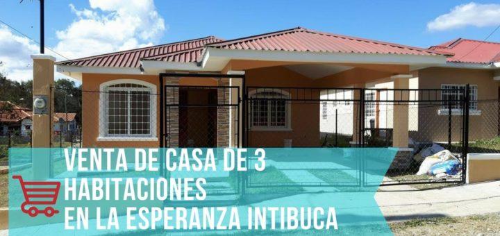 Venta de casas en La Esperanza Intibuca 2017